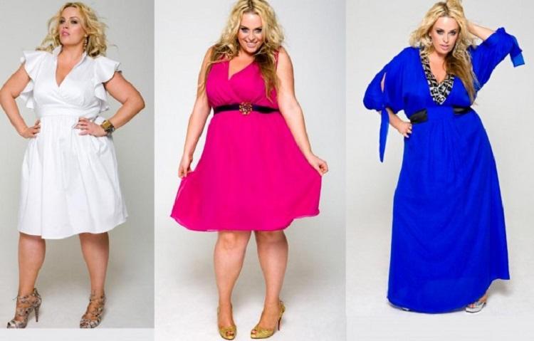 Модели платьев для полных женщин - правила выбора подходящего