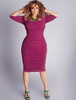 Модные фасоны платьев для полных женщин - варианты с фото