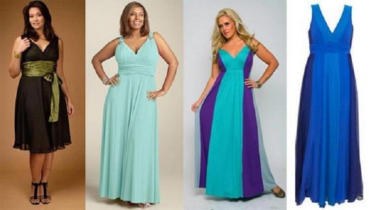 Платья на свидание для полных женщин - как выбрать правильный оттенок