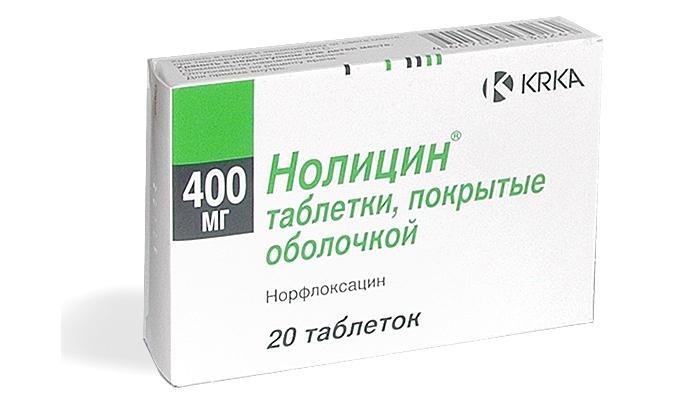 Быстрое лечение цистита у женщин таблетками: препарат Нолицин