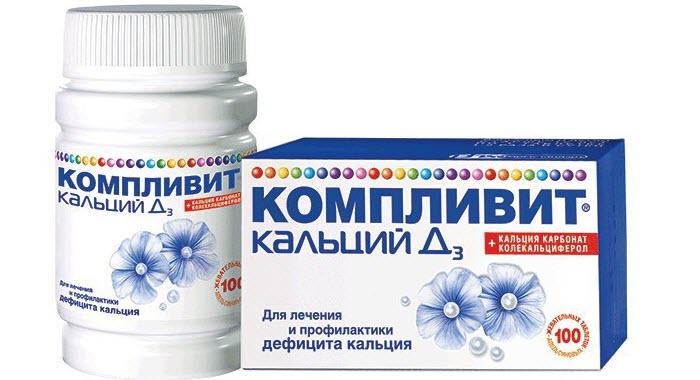 Комплекс Компливит Кальций д3, состав витаминов для женщин и правила его приема