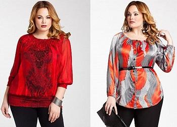 Как подобрать блузку полной женщине - советы по выбору фасона