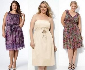 Как подобрать летнее платье полной женщине - рекомендации по выбору
