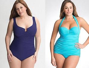 Мода для полных девушек - выбираем купальник к пляжному сезону