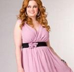 Модные платья на торжество для полных женщин - описание и фото