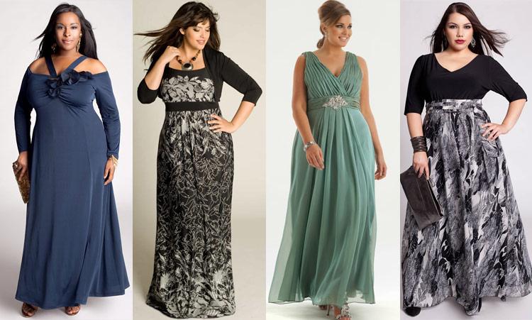 Нарядные летние платья для полных женщиин - как правильно подобрать