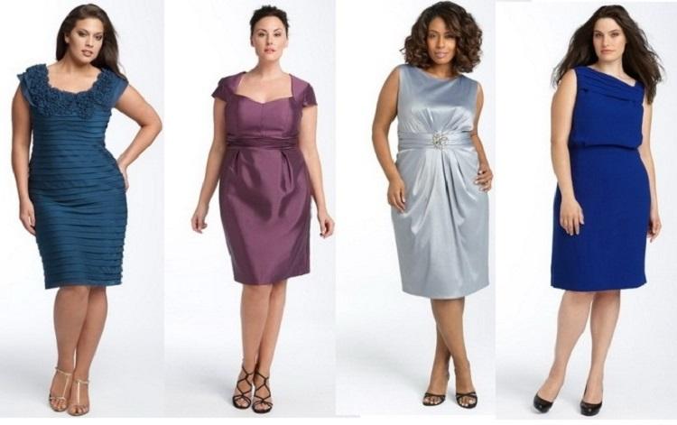 Офисные летние платья для полных женщин - как выбрать подходящее