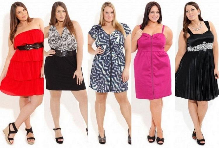 Повседневные летние платья для полных женщин - выбираем фасон
