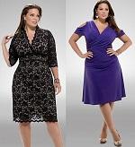 Вечерние платья для полных женщин - как правильно подобрать