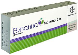 Визан таблетки при эндометриозе — Советы медиков
