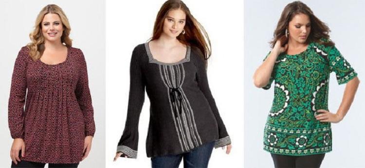 Выбираем блузки для полных женщин в зависимости от времени года