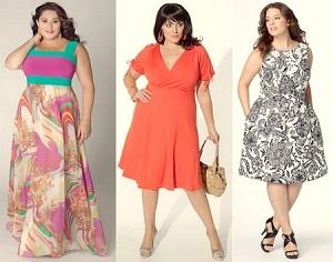 Выбираем материал для летних платьев на полных женщин
