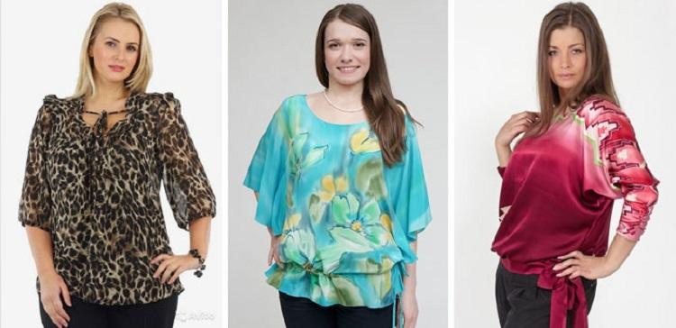 Выбор блузки для полных женщин - определяемся с цветом
