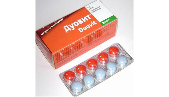 Дуовит - комплекс витаминов, включающий Д в таблетках для женщин