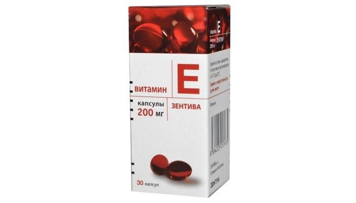 Суточная доза витамина Е для женщин от фирмы Зентива