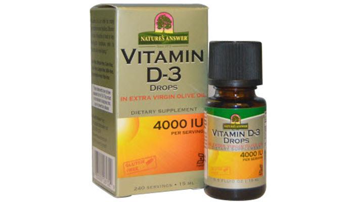 Natures Answer - Витамин Д3 для женщин и правила его приема