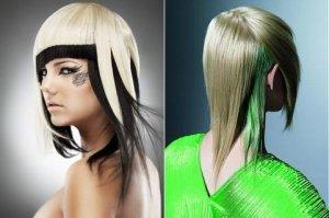Блочное окрашивание волос в домашних условиях