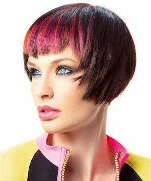 Колорирование на короткие волосы: как выбрать цвет?