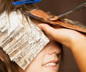 Мелирование коротких темных волос в домашних условиях