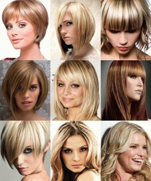 Выбор цвета при мелировании коротких волос