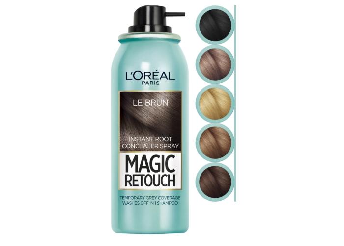 Спрей для закрашивания корней волос Лореаль: палитра оттенков