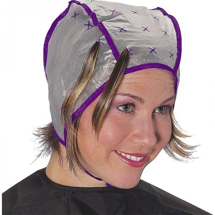 Мелирование светлых волос с использованием шапочки
