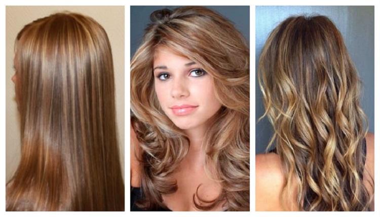 Как выглядит контрастное мелирование на светлых волосах