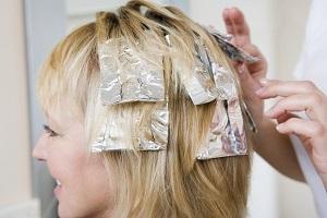 Как сделать мелирование на светлые волосы с фольгой