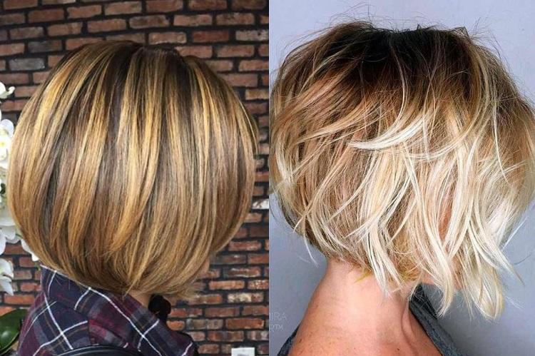 Как выглядит мелирование перышками на светлых волосах