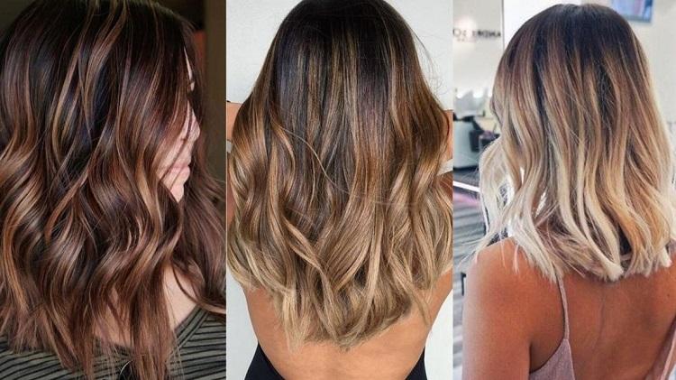 Методика темного мелирования на светлые и русые волосы