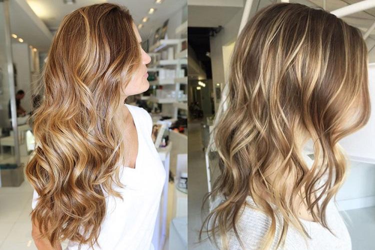 Особенности венецианского мелирования на светлые волосы