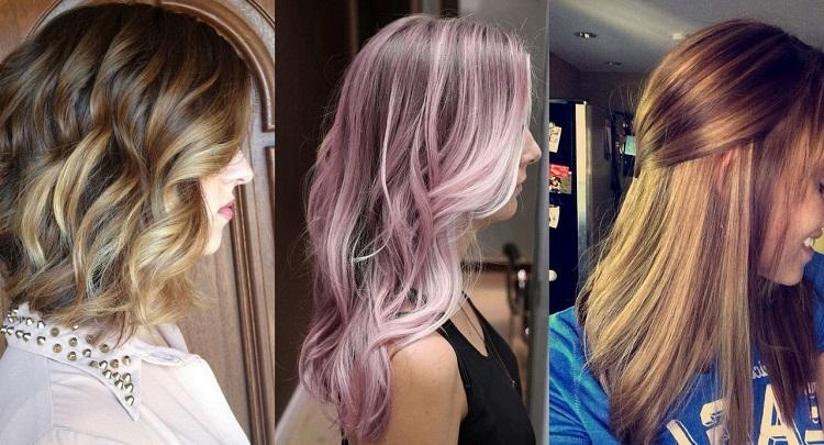 Цвета и оттенки для мелирования светлых волос