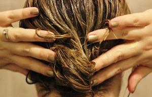 Массаж для волос и кожи головы с применением масла эвкалипта