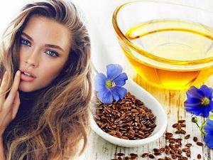 Меры предосторожности при применении маски для волос с льняным маслом