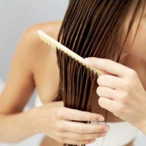 Аромарасчесывание с маслом мяты для волос