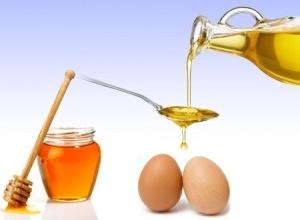 Репейное масло - применение с перцем, яйцом и медом для волос