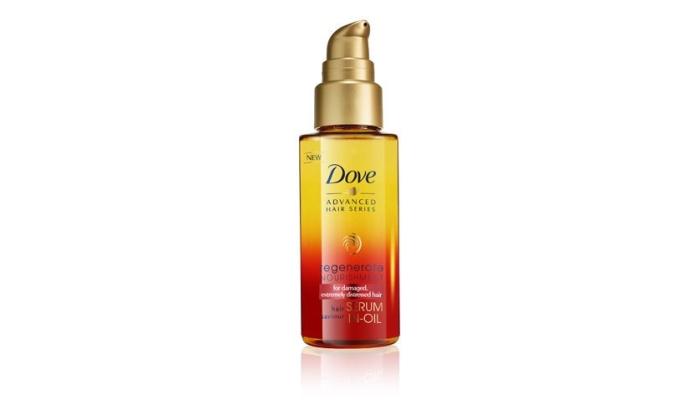 Масла для волос Дав: способ применения масла-сыворотки