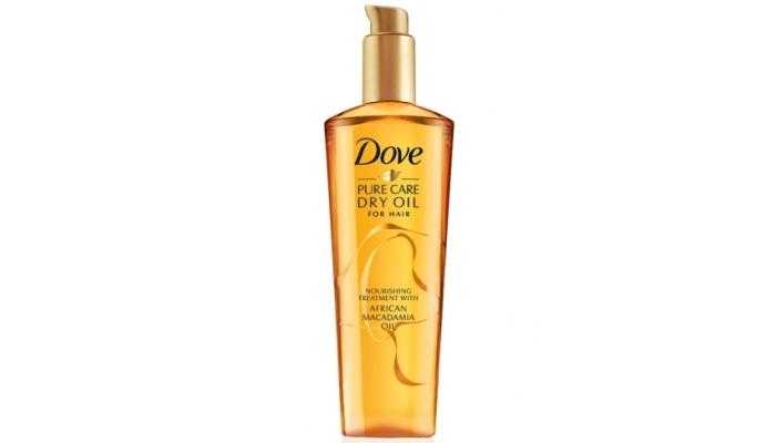 Масла для волос Дав: способ применения сухого масла