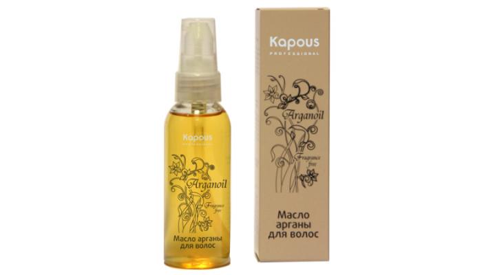 Профессиональное масло для волос: Kapous Arganoil