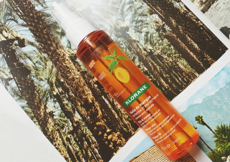 Klorane - масло-спрей для волос и состав продукции