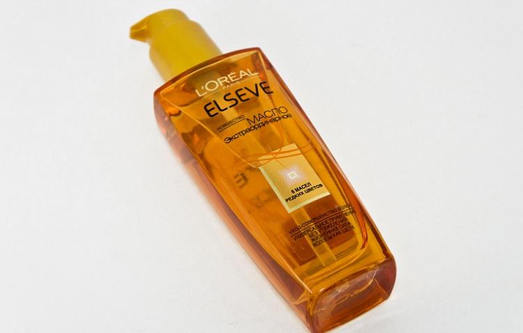 Масло для волос L`Oreal Elseve - состав и стоимость косметического средства