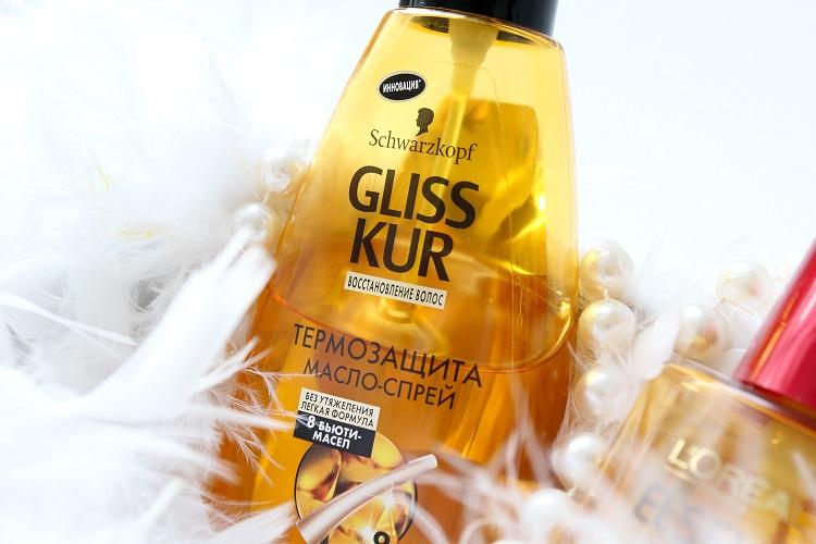 Масло для волос от Глис Кур - Термозащита - особенности и состав средства