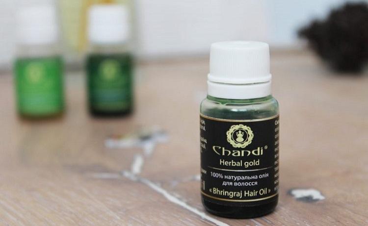 Натуральные масла для волос Chandi – средство «Bhringraj»
