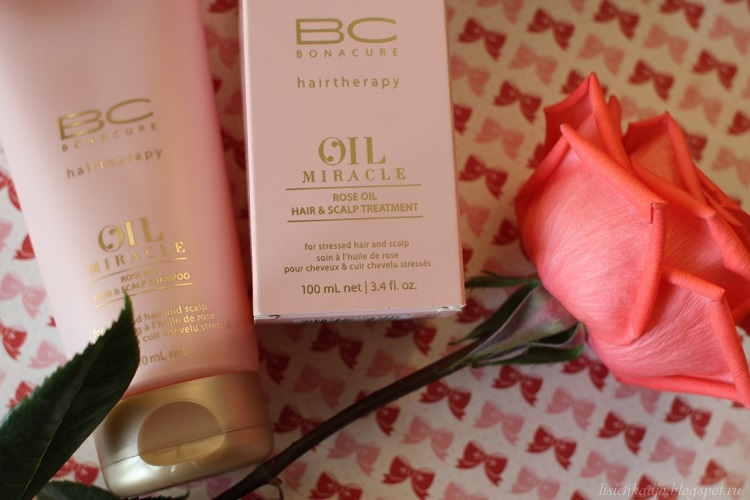 OIL Miracle Rose Oil - описание одного из самых эффективных средств в уходе за волосами