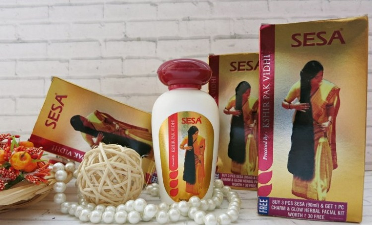 SESA – натуральное индийское масло для волос