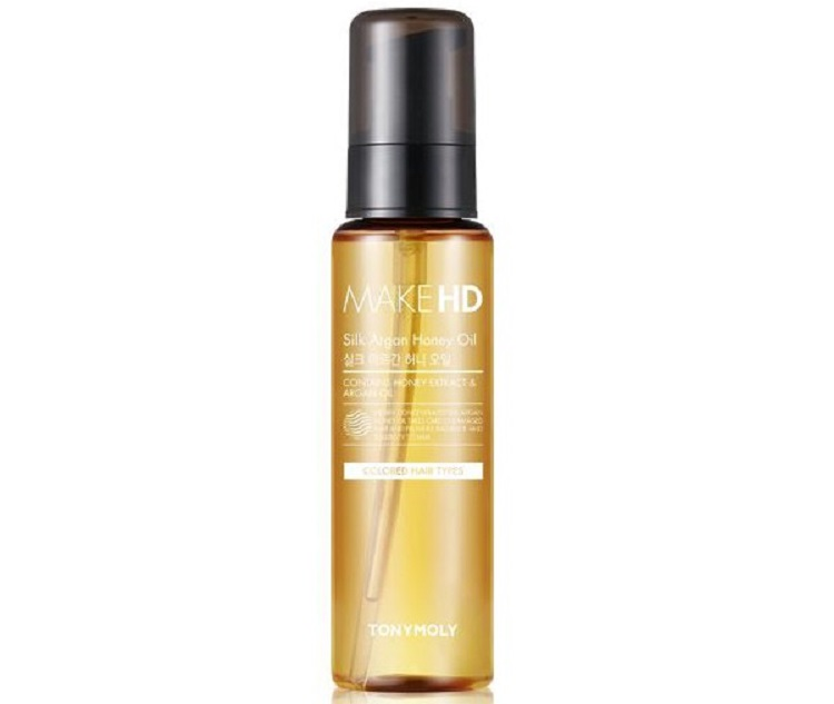Tony Moly Silk Argan Oil - масло для роста волос