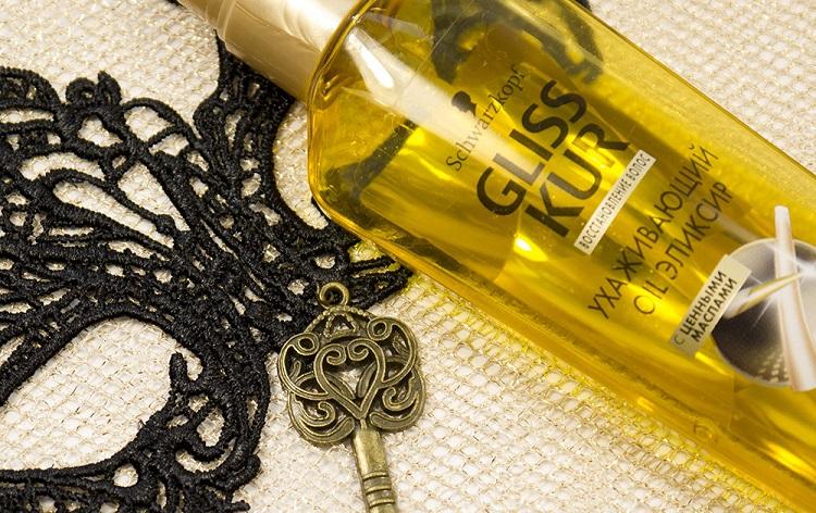 Ухаживающее масло Gliss Kur от Шфарцкопф - отзывы покупательниц