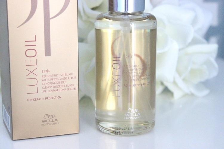 Wella SP Luxe Oil - восстанавливающее масло для волос