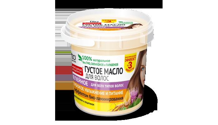 Густое масло для волос Народные рецепты: достоинства и недостатки