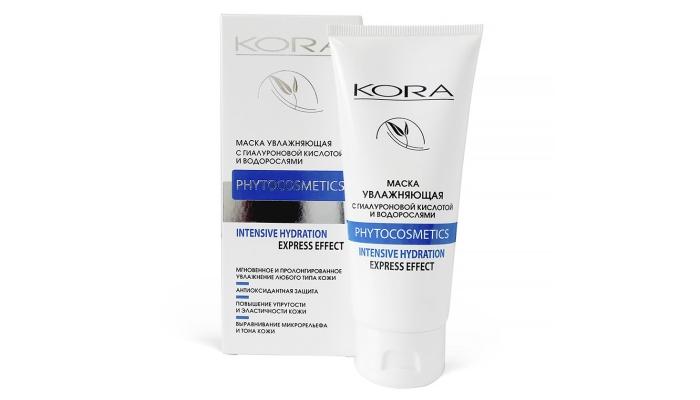 Пилинг Кора: увлажняющая крем-маска с водорослями и гиалуроновой кислотой